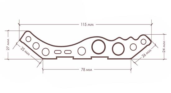 Карниз TX-115