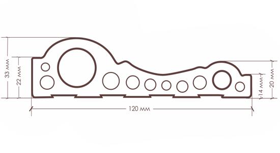 Молдинг TX-12M