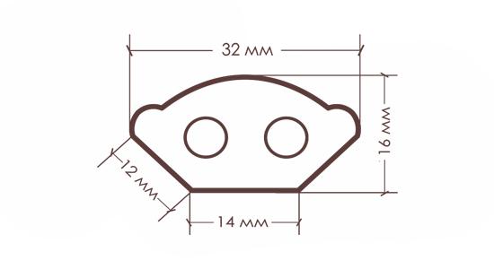 Карниз TX-32S